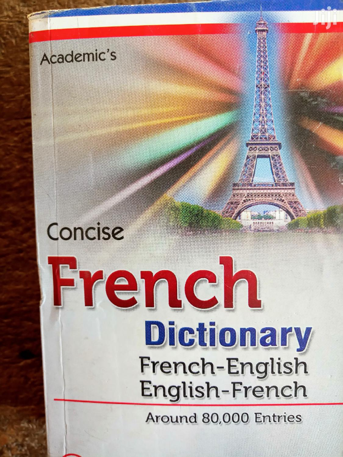 French Dictionary For Advanced Learner