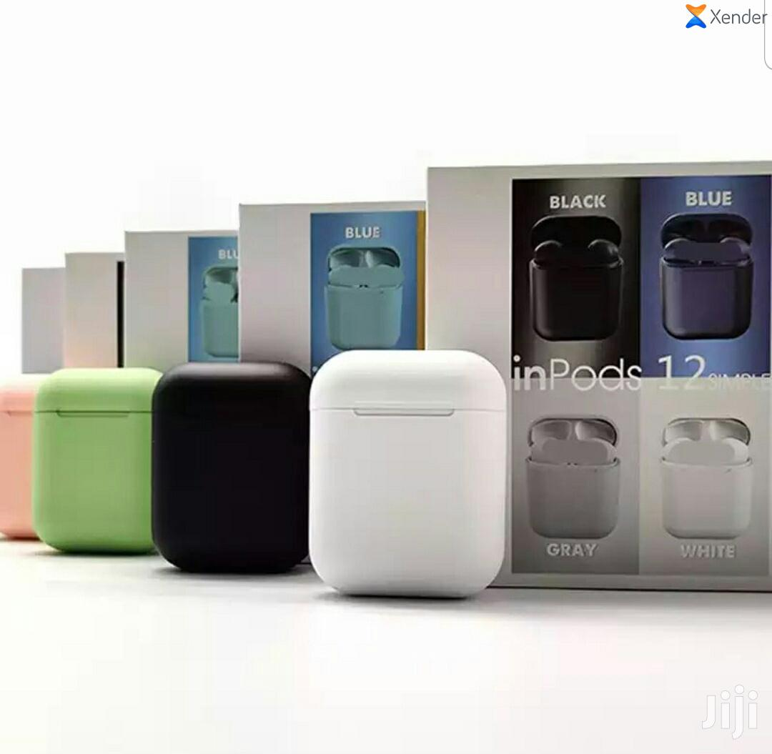I12 Inpods(Ios &Android) | Headphones for sale in Ilala, Dar es Salaam, Tanzania