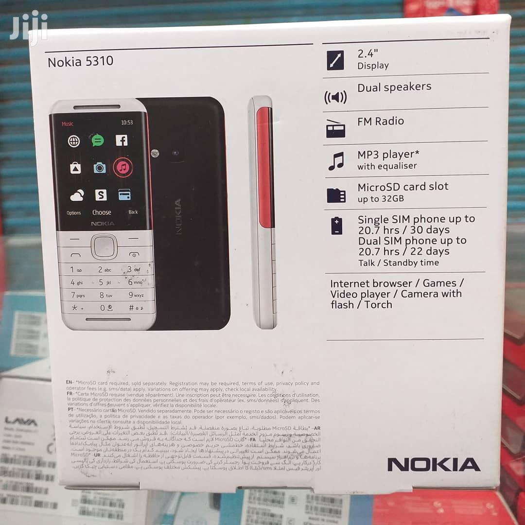 New Nokia 5310 XpressMusic Black   Mobile Phones for sale in Ilala, Dar es Salaam, Tanzania
