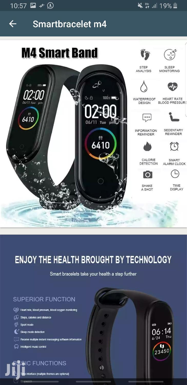 M4 Smart Bracelet Band | Smart Watches & Trackers for sale in Kinondoni, Dar es Salaam, Tanzania