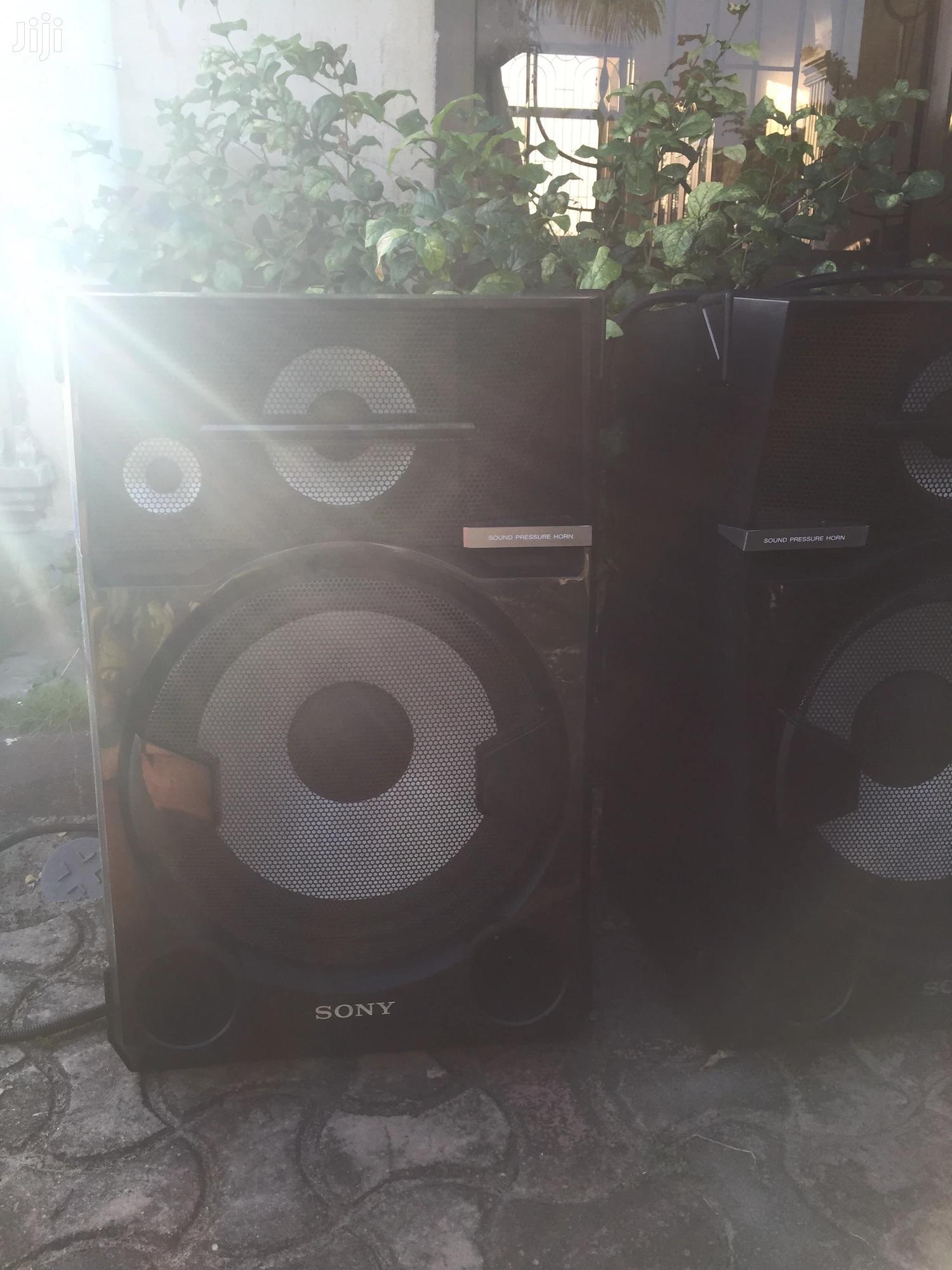 2 Giant Sony Speakers | Audio & Music Equipment for sale in Kinondoni, Dar es Salaam, Tanzania