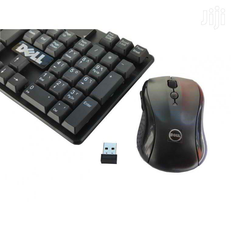 Wireless Keyboard and Mouse Combo Durable Free Delivery | Computer Accessories  for sale in Ilala, Dar es Salaam, Tanzania