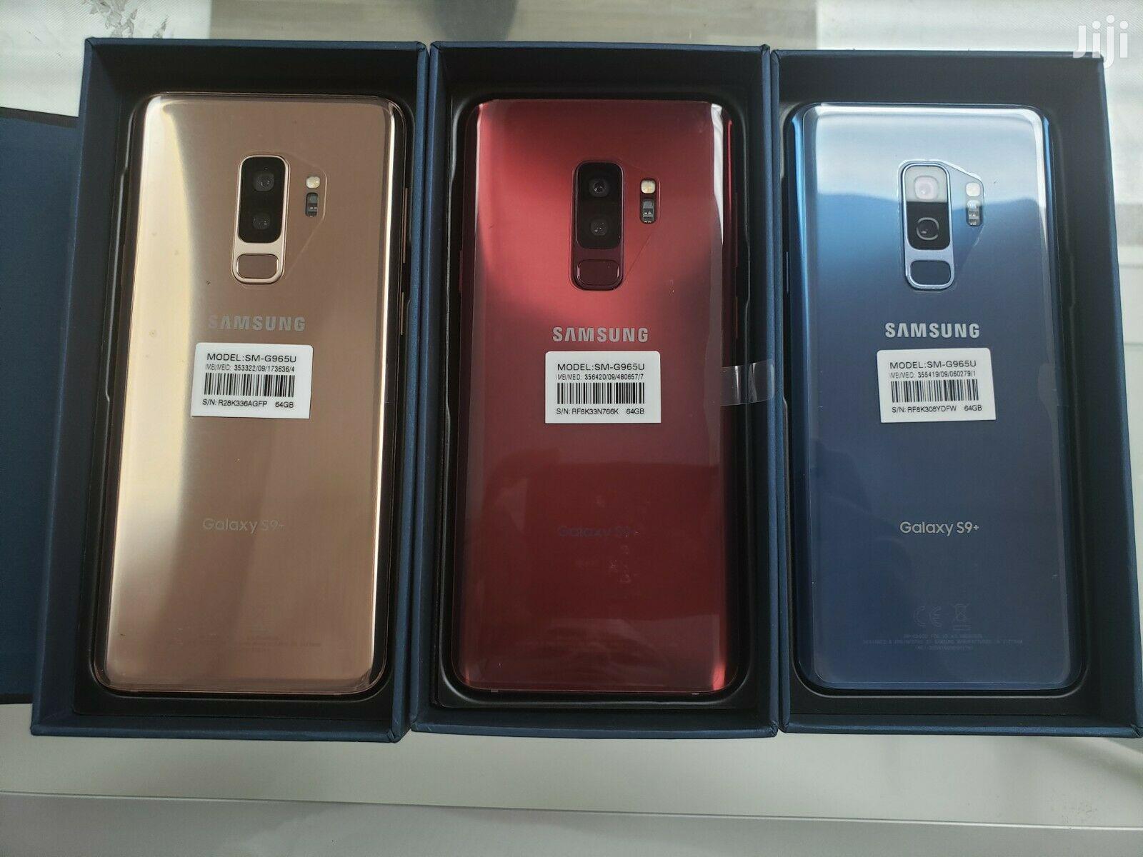 Archive: New Samsung Galaxy S9 Plus 256 GB