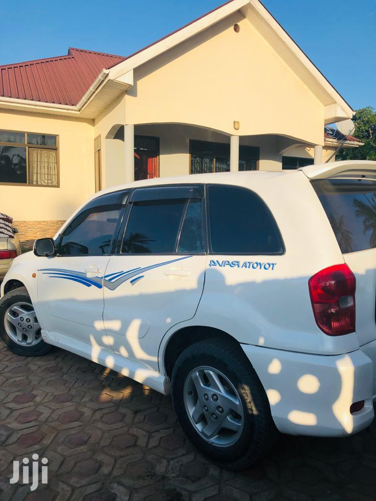 Toyota RAV4 2003 Automatic White   Cars for sale in Kinondoni, Dar es Salaam, Tanzania