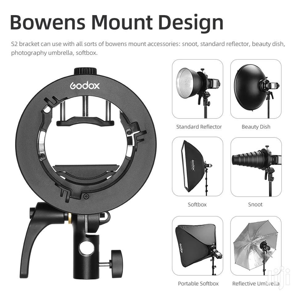 Archive: Godox S2 Bowens Mount Flash. S-type Holder Bracket