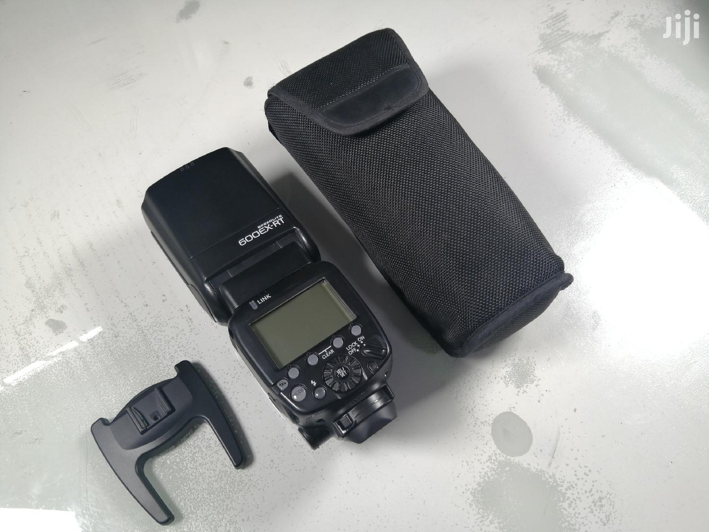 Canon 600EX-RT Speedlite Flash (Black).