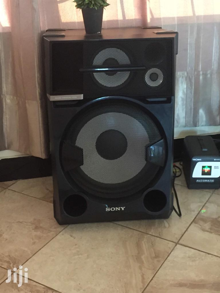 2 Giant Sony Speakers