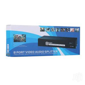 MT-VIKI 8 Port Av Splitter And Signal Amplifier Supported | Accessories & Supplies for Electronics for sale in Dar es Salaam, Kinondoni