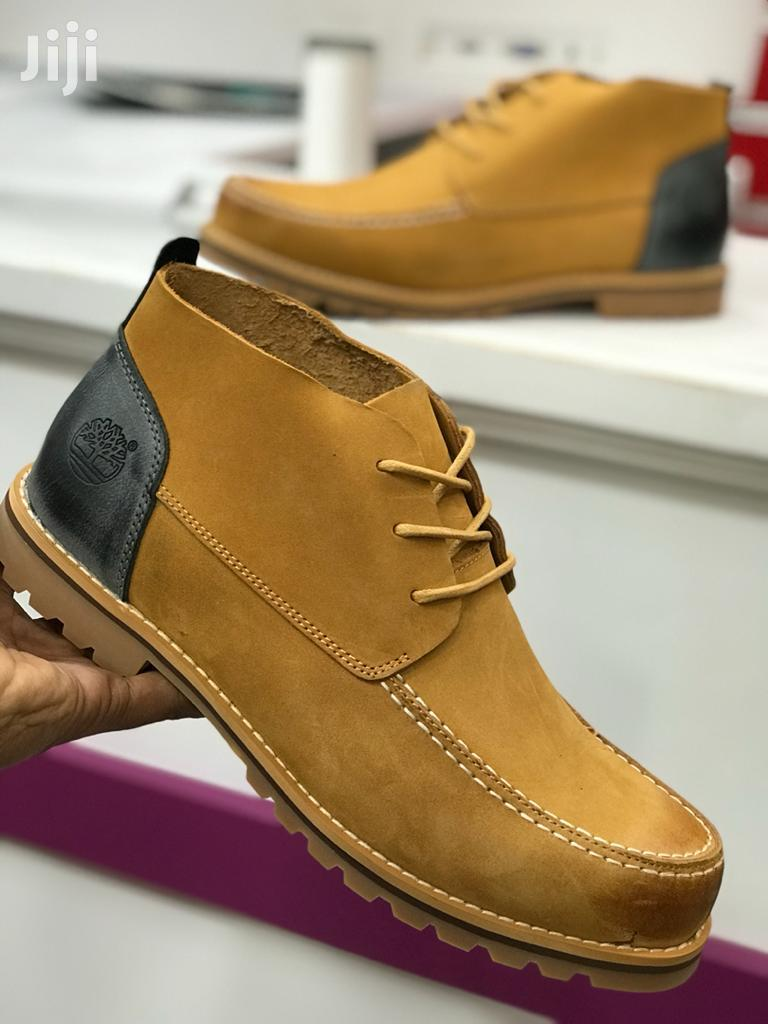 Timberland Classic Leather Shoes.