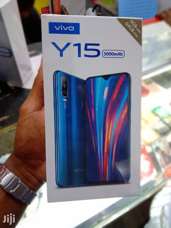 New Vivo Y15 64 GB Black