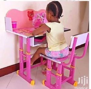 Meza Za Kusomea Watoto Pink   Children's Furniture for sale in Dar es Salaam, Ilala
