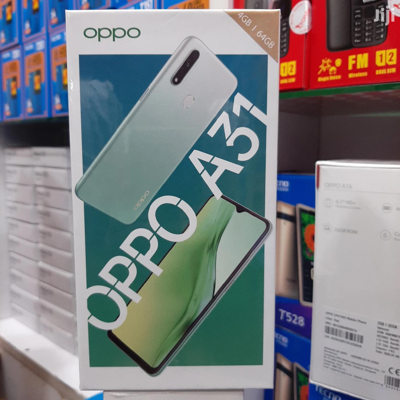 New Oppo A31 64 GB Black