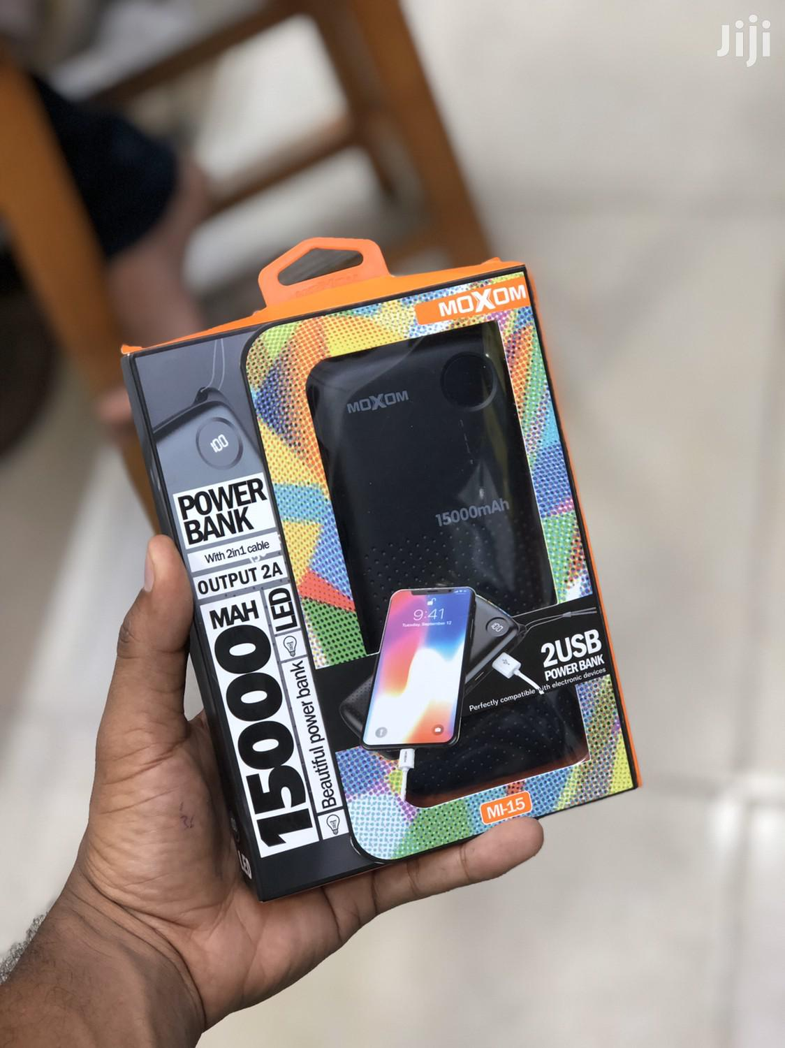New Moxom 15000mah Power Bank | Accessories for Mobile Phones & Tablets for sale in Ilala, Dar es Salaam, Tanzania