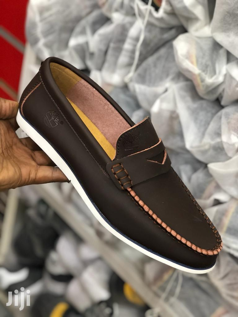 Timberland Flat Leather Shoes. | Shoes for sale in Kinondoni, Dar es Salaam, Tanzania