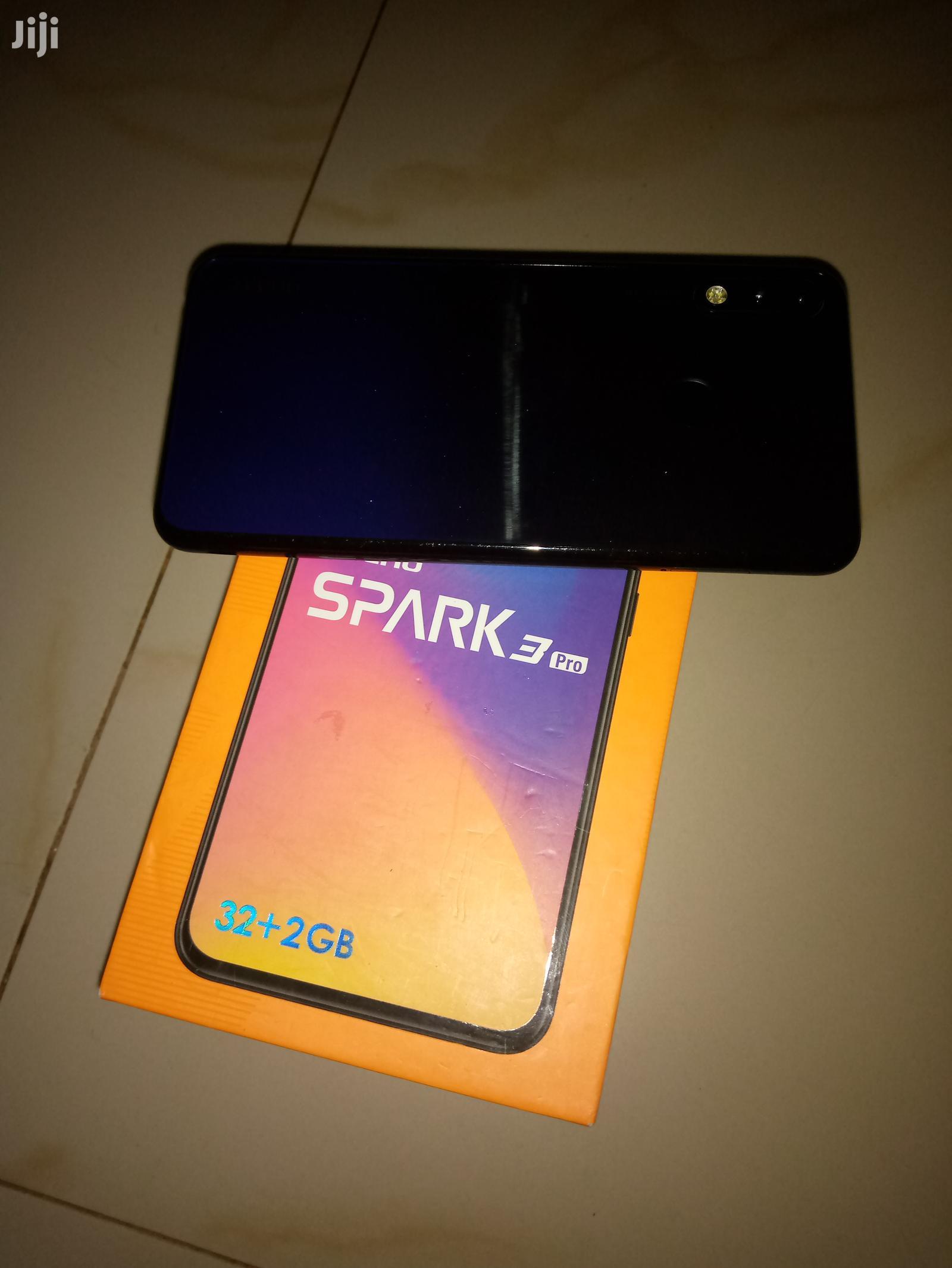 Tecno Spark 3 Pro 32 GB Black   Mobile Phones for sale in Ilemela, Mwanza, Tanzania
