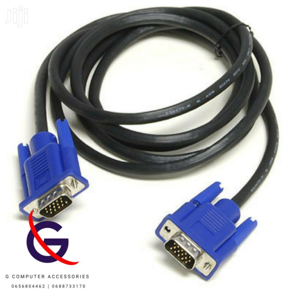 VGA Power Cable and HDMI