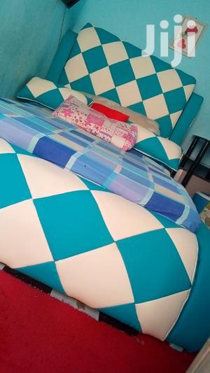Used Bed Blue | Furniture for sale in Mbeya Region, Mbeya City