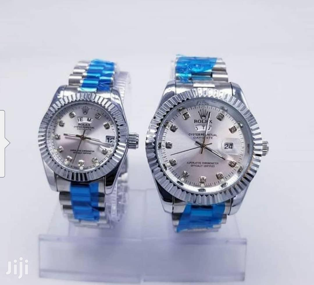 Archive: Lovely Couple Watch From Rolex