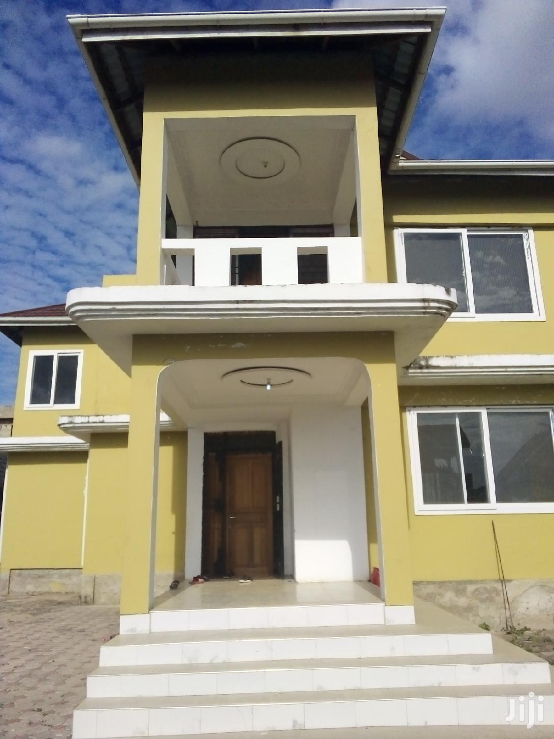 3 Bedroom House In Mbweni For Rent