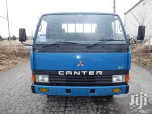 Mitsubishi Canter Truck Cargo 1987 Blue