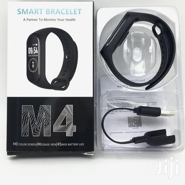 M4 Intelligence Bluetooth Health Wrist Smart Band Watch
