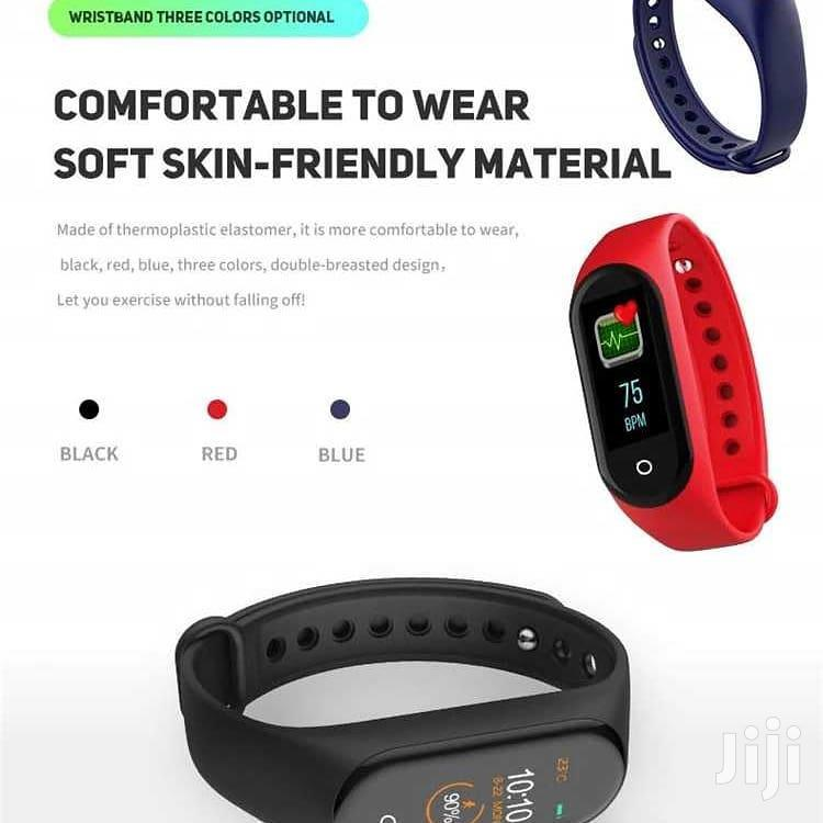 M4 Intelligence Bluetooth Health Wrist Smart Band Watch | Smart Watches & Trackers for sale in Ilala, Dar es Salaam, Tanzania