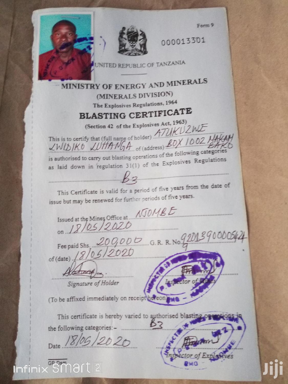 Blasting And Drilling | Mining Industry CVs for sale in Kilolo, Iringa Region, Tanzania