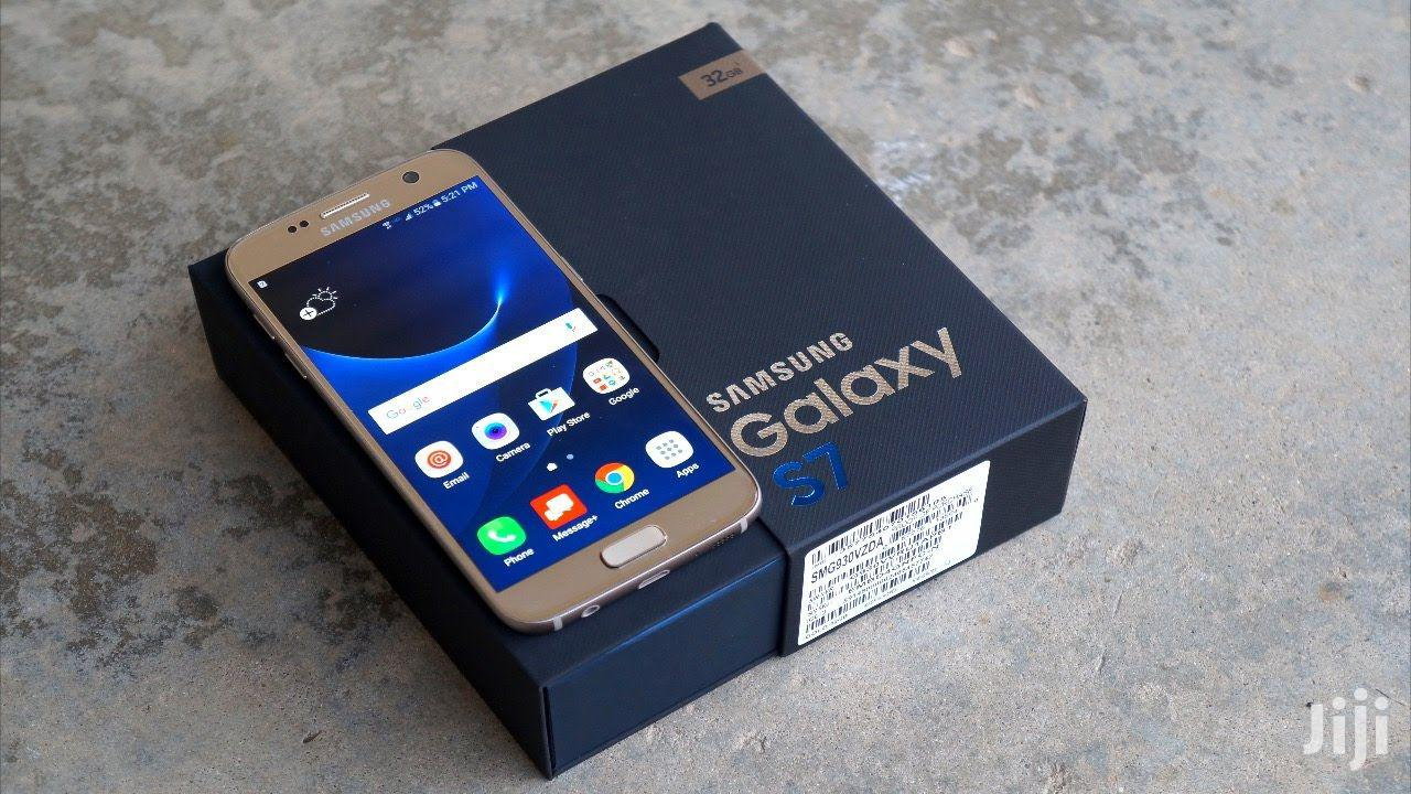 New Samsung Galaxy S7 32 GB Gold   Mobile Phones for sale in Kinondoni, Dar es Salaam, Tanzania