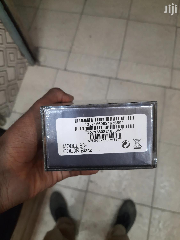New Samsung Galaxy S8 Plus 64 GB Black   Mobile Phones for sale in Ilala, Dar es Salaam, Tanzania