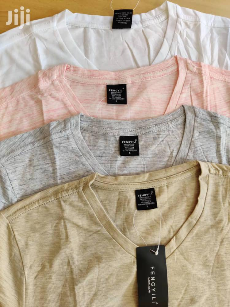 V Collar Tshirt | Clothing for sale in Ilala, Dar es Salaam, Tanzania