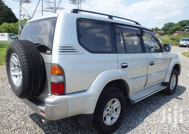 Archive: Toyota Land Cruiser Prado 1999 Gold