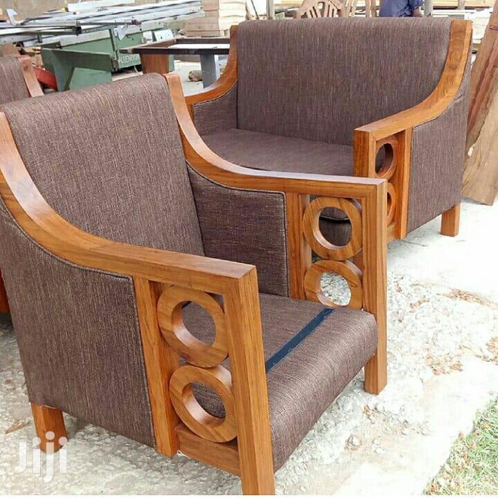 Hardwood Armchairs