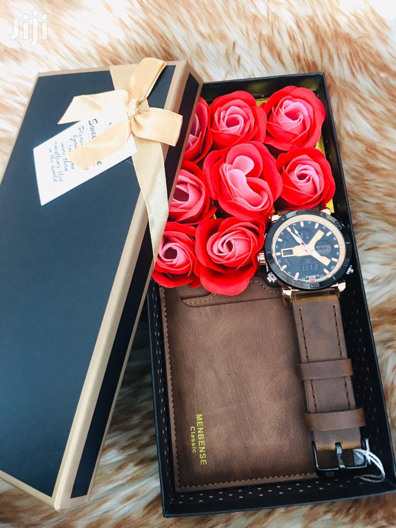 Fashion Watches+Flowers+Wallet+Doll