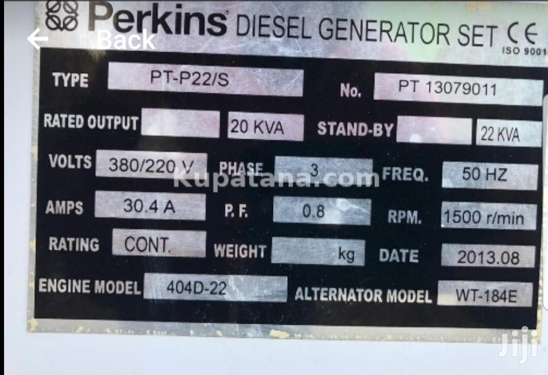 Archive: Perkins Generator 2okv