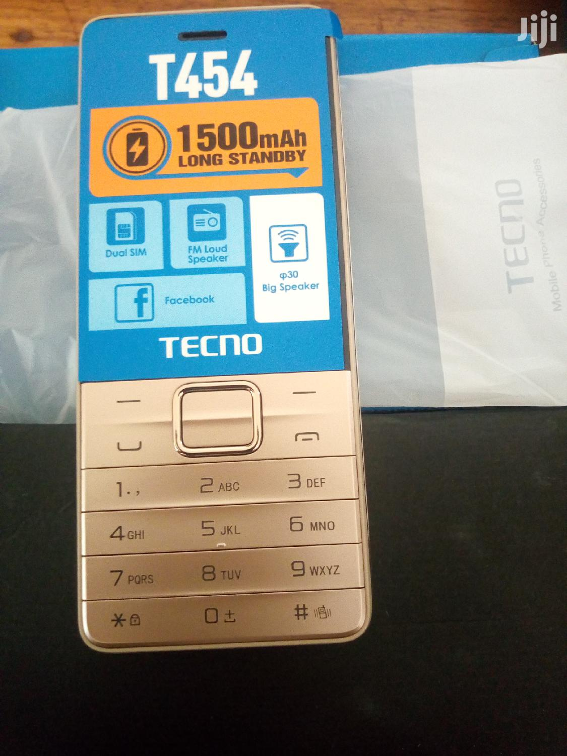 Archive: New Tecno T454 Black