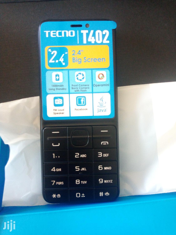 New Tecno T402 Black