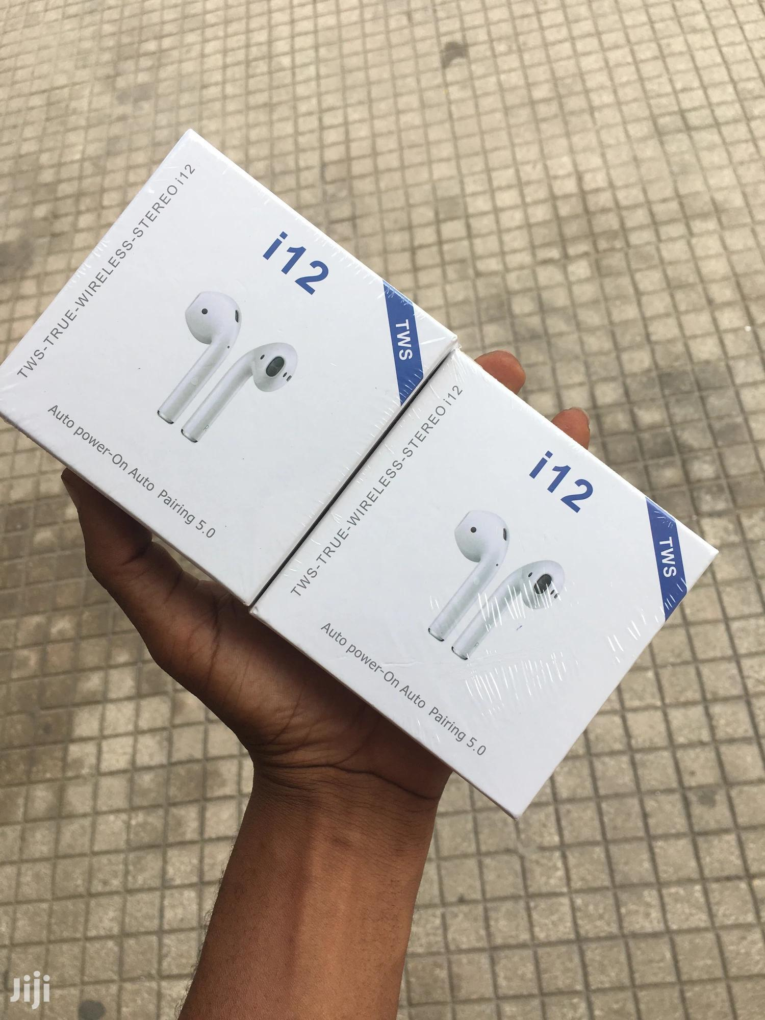 I12 Tws Airpods | Headphones for sale in Kinondoni, Dar es Salaam, Tanzania