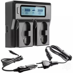 Dual Battery Charger For Canon LP-E19, LP-E4 Camera Battery | Accessories & Supplies for Electronics for sale in Dar es Salaam, Kinondoni