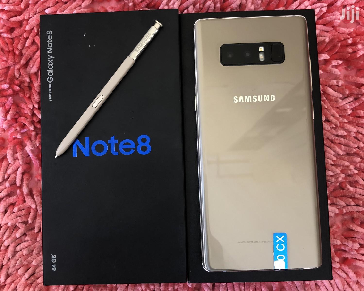 New Samsung Galaxy Note 8 64 GB Black   Mobile Phones for sale in Kinondoni, Dar es Salaam, Tanzania