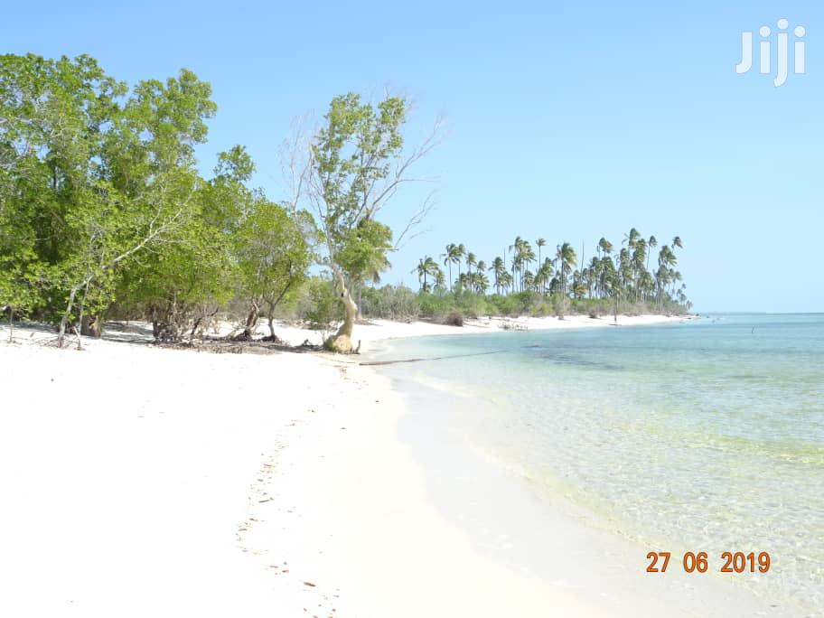 Beach Plot For Sale Kigamboni.