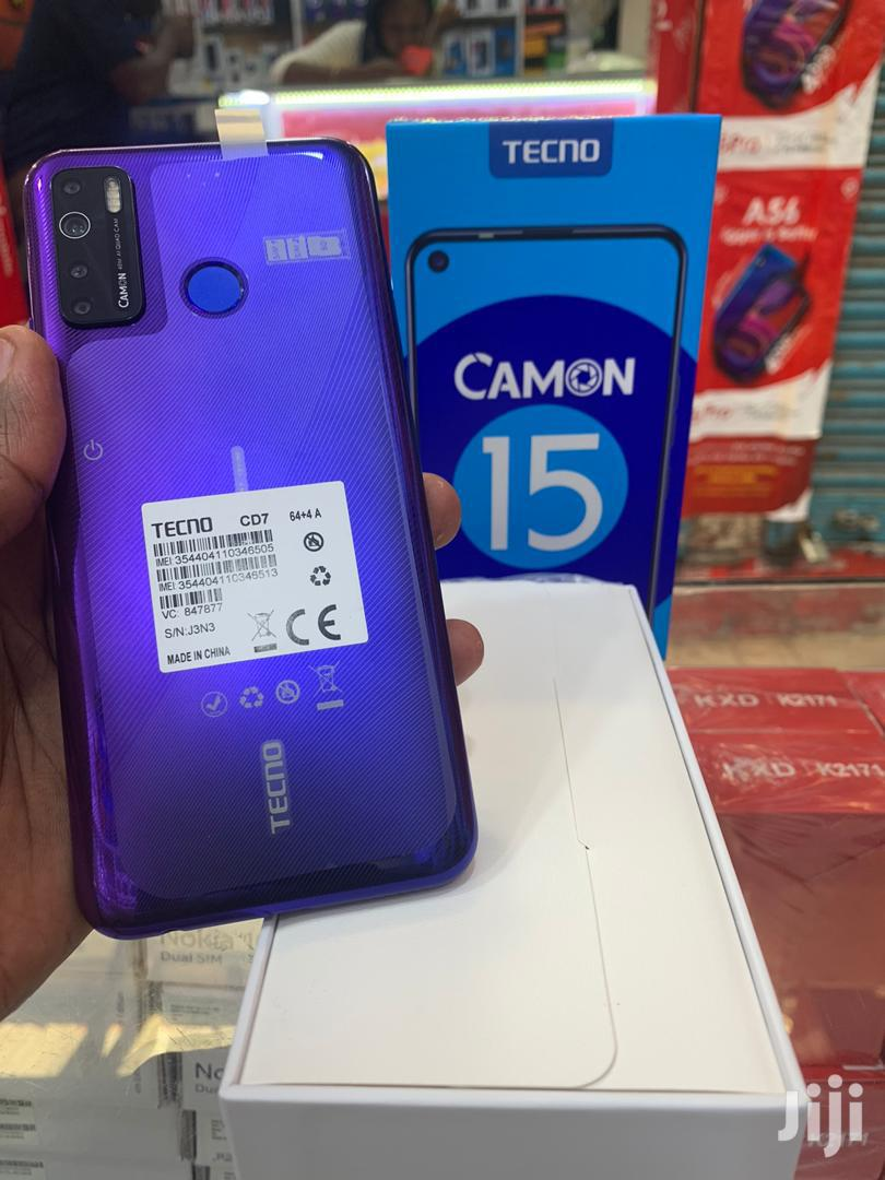 New Tecno Camon 15 64 GB Blue
