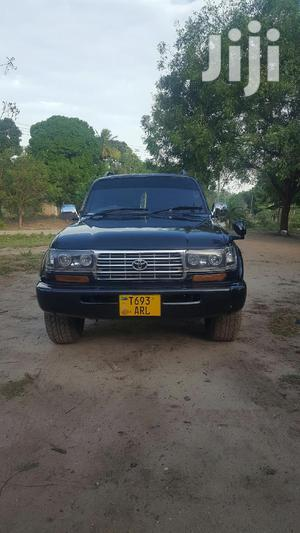 Toyota Land Cruiser 1995 80 Wagon 4.5 Black