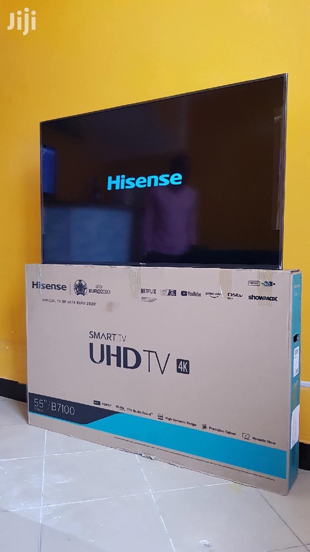 Hisense Smart TV 4K Inch 55   TV & DVD Equipment for sale in Kinondoni, Dar es Salaam, Tanzania
