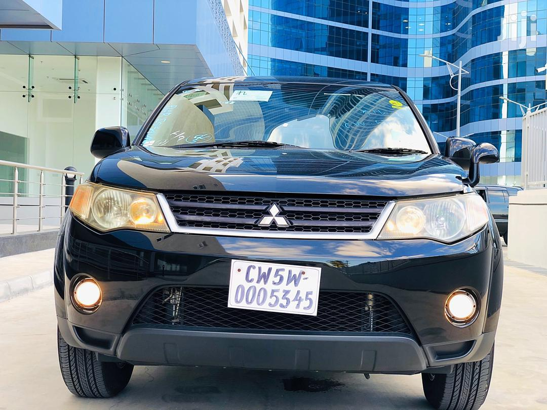 New Mitsubishi Outlander 2006 Black | Cars for sale in Kinondoni, Dar es Salaam, Tanzania