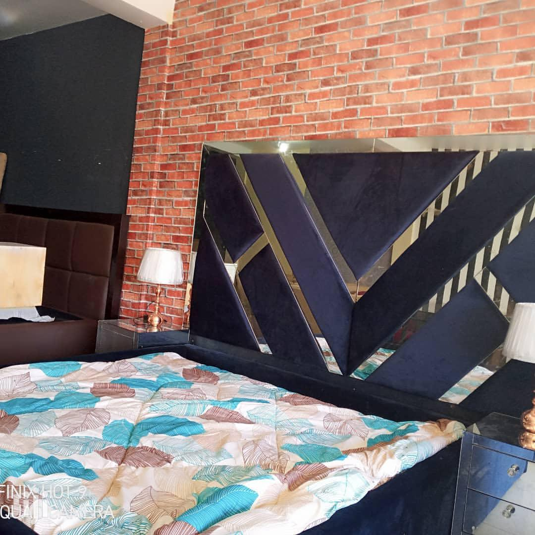 Bedsofa With A Mirrors | Furniture for sale in Ilala, Dar es Salaam, Tanzania