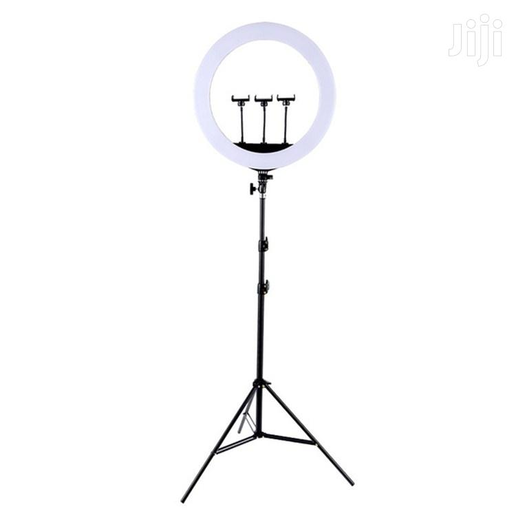 Ring Light HQ-21N 21 Inch 52.5cm With Stand | Accessories for Mobile Phones & Tablets for sale in Ilala, Dar es Salaam, Tanzania