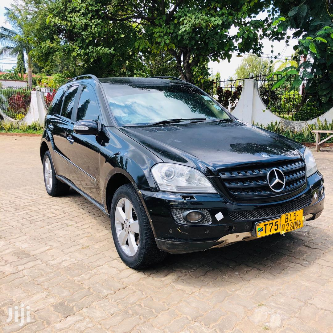 Mercedes-Benz M Class 2007 Black | Cars for sale in Kinondoni, Dar es Salaam, Tanzania