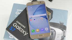 New Samsung Galaxy S7 32 GB Gold   Mobile Phones for sale in Dar es Salaam, Kinondoni
