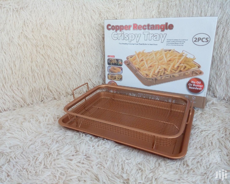 Copper Crispy Tray