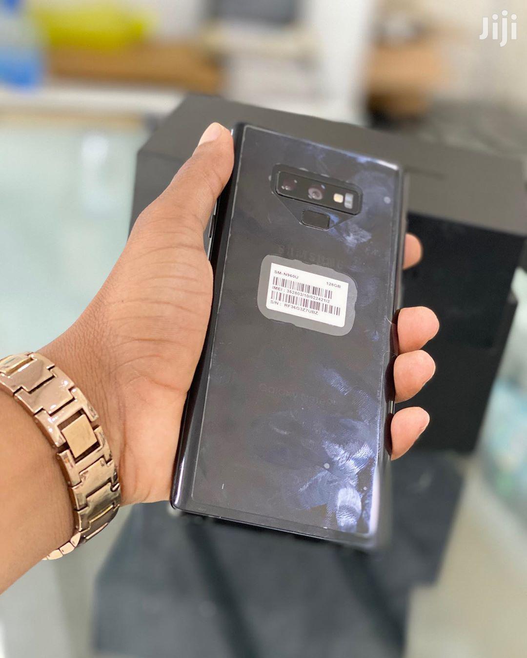 New Samsung Galaxy Note 9 128 GB Black   Mobile Phones for sale in Kinondoni, Dar es Salaam, Tanzania